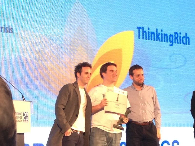 Ganador de Premios 20 Blogs en Economa